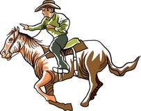 Corrida de cavalos ilustração do vetor