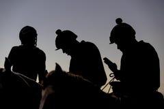 Corrida de cavalos competitiva Imagem de Stock Royalty Free