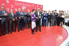 Corrida de cavalos de Istambul Imagens de Stock