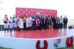 Corrida de cavalos de Istambul Imagem de Stock Royalty Free