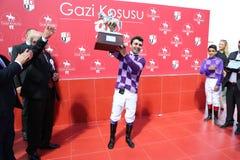 Corrida de cavalos de Istambul Imagens de Stock Royalty Free
