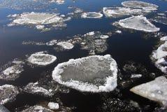 Corrida de hielo Imagenes de archivo