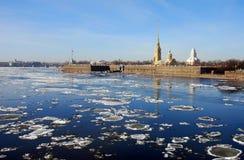 Corrida de hielo Fotografía de archivo libre de regalías