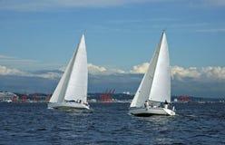 Corrida de la bahía de Elliott imagen de archivo libre de regalías
