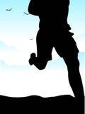 Corrida de la mañana Imagen de archivo libre de regalías