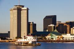 Corrida del transbordador de New Orleans - de Argel Foto de archivo