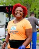 Corrida do dia 5K das mamãs Fotos de Stock Royalty Free