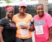 Corrida do dia 5K das mamãs Fotografia de Stock Royalty Free