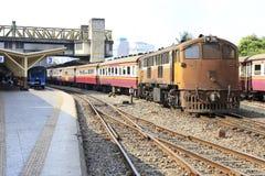 Corrida dos trens Fotos de Stock Royalty Free