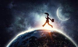 Corrida em todo o mundo Foto de Stock Royalty Free