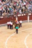 Corrida en Madrid, España Foto de archivo