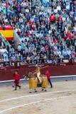 Corrida en Madrid, España Imagen de archivo libre de regalías