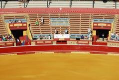 Corrida en plaza de toros en España. Imagenes de archivo