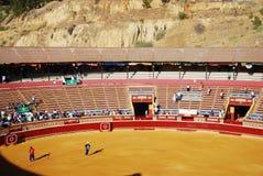 corrida Espagne de tauromachie traditionnelle Photographie stock libre de droits