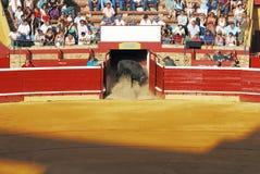 corrida Espagne de tauromachie traditionnelle Photographie stock