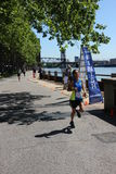 corrida 5K Fotografia de Stock Royalty Free