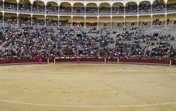 Corrida-Las belüftet Madrid Stockbild