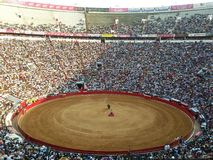 Corrida, Plaza Mexico, Mexico City. Corrida toreadors competition in Plaza Mexico, Mexico City, Mexico Stock Images