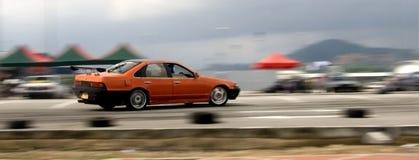 Corridas de carros imagem de stock royalty free