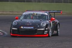 Corridas de carros de Italia do copo de Porsche Carrera fotografia de stock