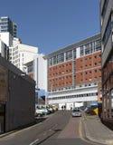Corridoi dell'università della residenza PLYMOUTH REGNO UNITO Immagine Stock