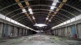 Corridoio abbandonato Immagini Stock Libere da Diritti