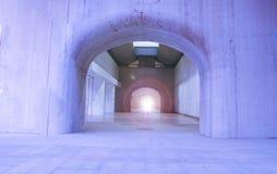 Corridoio arcato Fotografia Stock Libera da Diritti