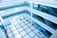 Corridoio attendente dell'ospedale Fotografia Stock