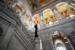 Corridoio, Biblioteca del Congresso Fotografia Stock