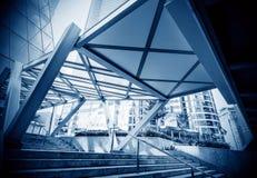 Corridoio blu Fotografia Stock Libera da Diritti