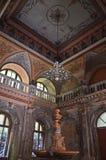 Corridoio centrale - bagni imperiali austriaci - Herculane Fotografie Stock Libere da Diritti