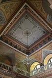 Corridoio centrale - bagni imperiali austriaci - Herculane Fotografia Stock Libera da Diritti