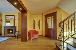 Corridoio classico di stile Fotografia Stock