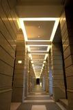Corridoio con gli archi Immagini Stock