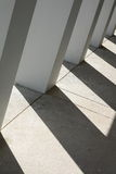Corridoio con le ombre Immagini Stock