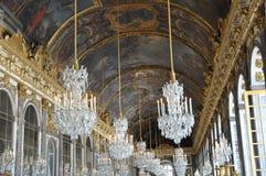 Corridoio degli specchi, Versailles Fotografia Stock