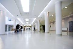 Corridoio del centro dell'ufficio Immagine Stock Libera da Diritti
