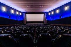 Corridoio del cinema Immagini Stock
