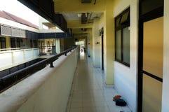 Corridoio del corridoio dell'appartamento al giorno Fotografia Stock Libera da Diritti