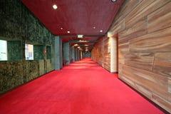 Corridoio del marmo e di legno Fotografie Stock