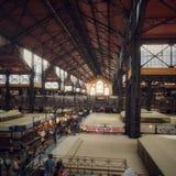Corridoio del mercato di Budapest immagine stock libera da diritti
