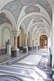 Corridoio del palazzo di pace fotografia stock libera da diritti