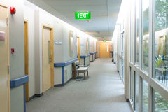 Corridoio del quartiere di ospedale Fotografia Stock