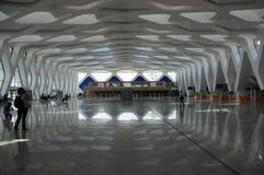 Corridoio dell'aeroporto Fotografie Stock