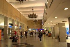 Corridoio dell'aeroporto di Sofia Fotografie Stock Libere da Diritti