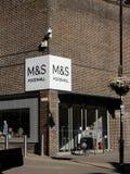 Corridoio dell'alimento di M&S Fotografie Stock Libere da Diritti