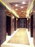Corridoio dell'elevatore Immagini Stock Libere da Diritti