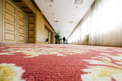 Corridoio dell'hotel Immagine Stock Libera da Diritti