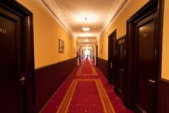 Corridoio dell'hotel Fotografie Stock Libere da Diritti