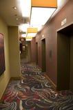 Corridoio dell'hotel Fotografia Stock